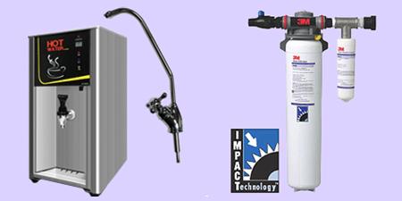 온수기 (컵라면, 커피 등) 시스템 (Hot Water Heater, 3M Filter)