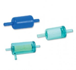 Disposable filter units (in-line)
